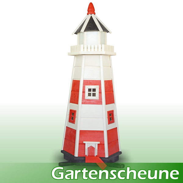 leuchtturm garten dekoration xxl 107cm ebay. Black Bedroom Furniture Sets. Home Design Ideas